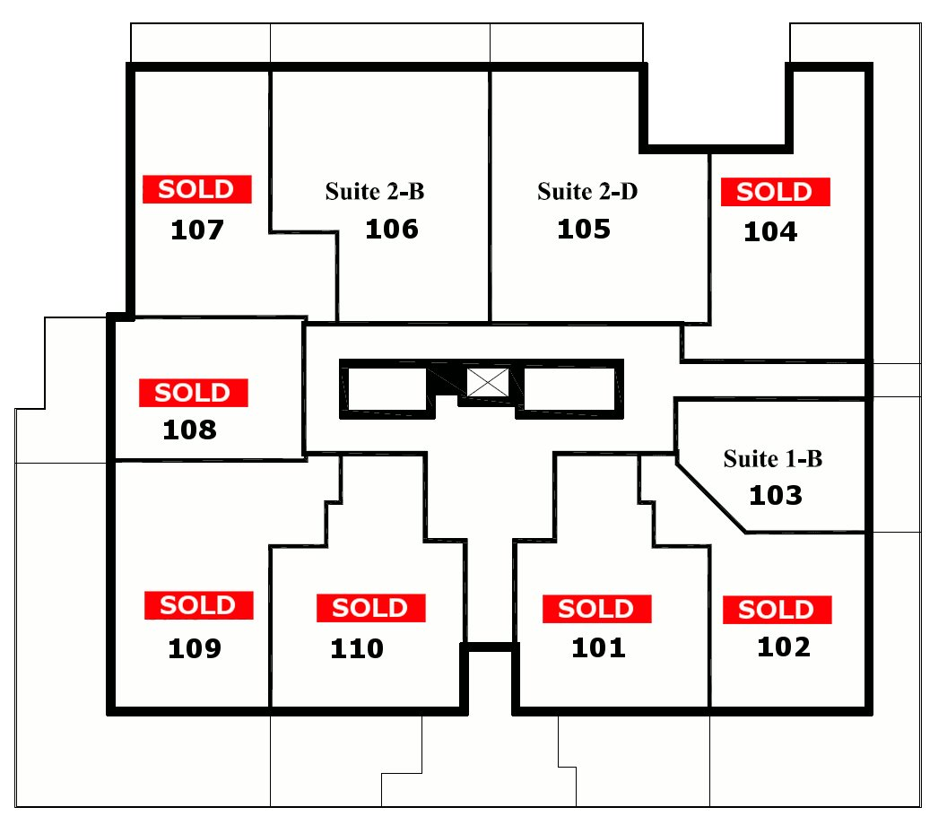 Floor plans bentley luxury condos in edmonton for Condo floor plan